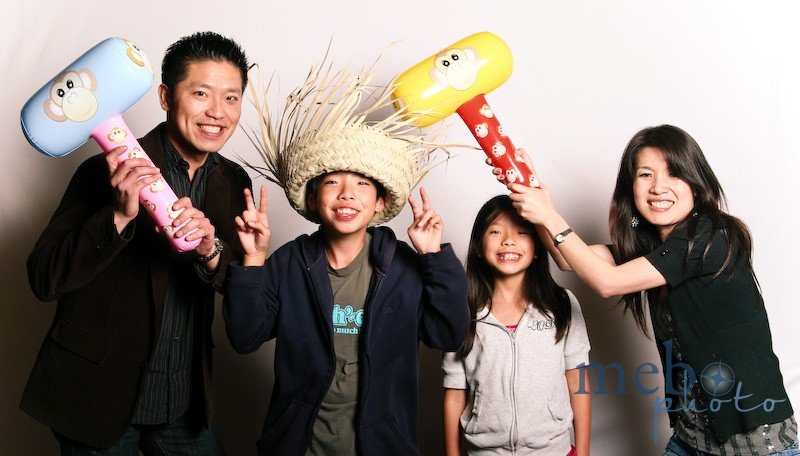 This family had a lot of fun, coming back again and again!