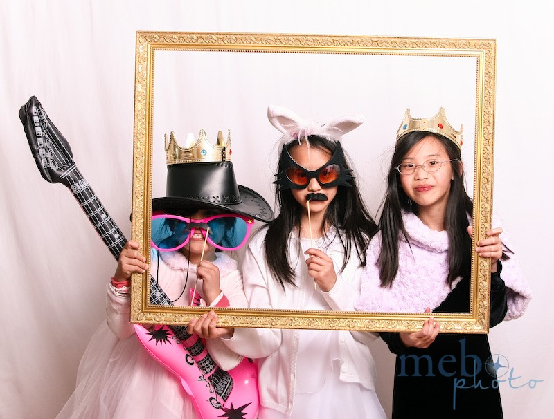These girls couldn't get enough of the photobooth! They kept coming back for more!