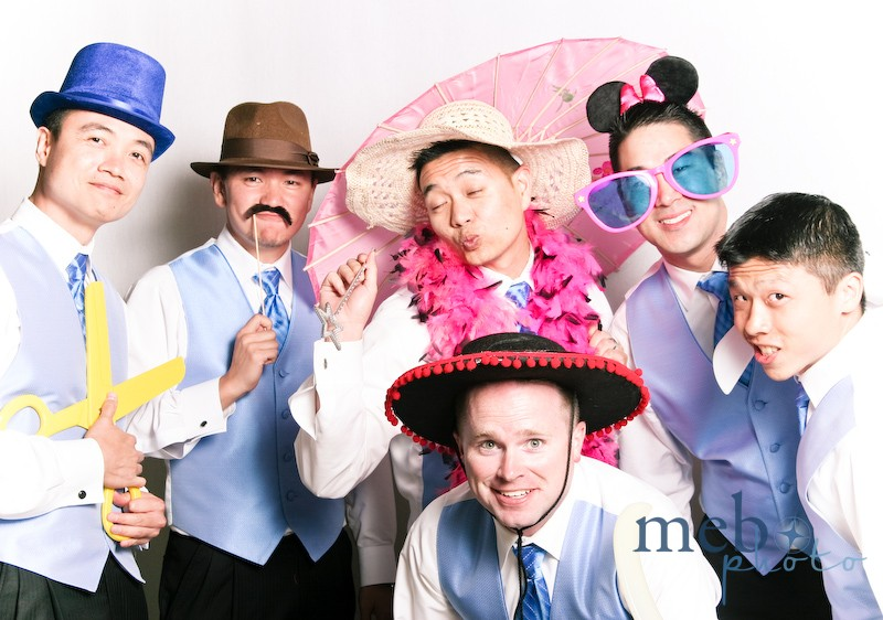 These groomsmen finally let loose after a long day!