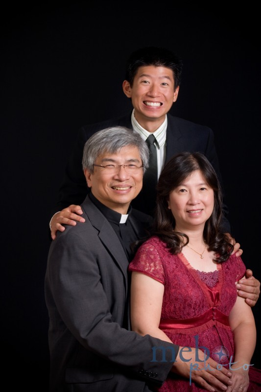 This is the pastor of our church and his family. Don't you just love that smile?!