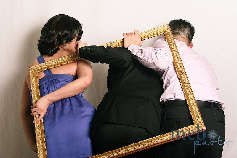 Ever wondered what your butt would look like framed? Find out in a photobooth!