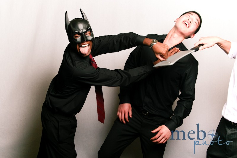Poor guy...getting attacked by Batman and the Grim Cleaver at the same time!