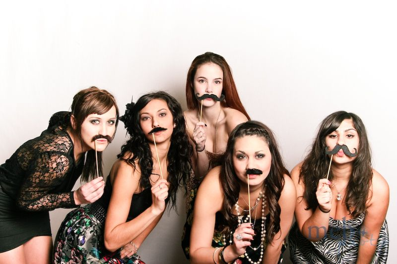 The ladies always get a hoot out of wearing mustaches. Envious of facial hair? Probably...not