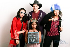 Hey, when you're in our photobooth, being held against your will doesn't seem so bad!