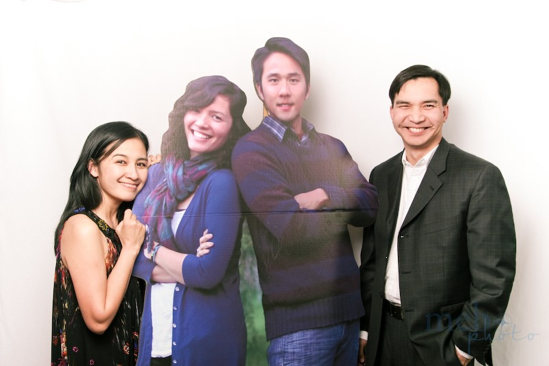 The next best thing to the real thing: cardboard cut-outs!