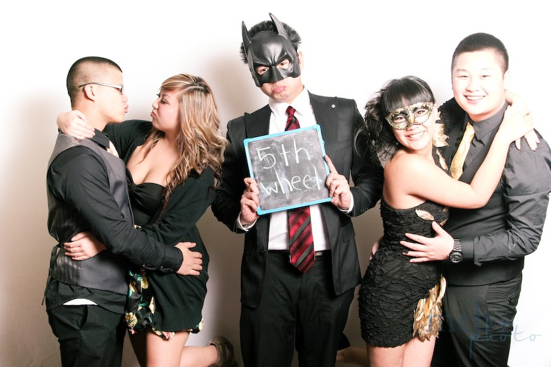 Batman was too busy fighting crime to get a date to the winter ball