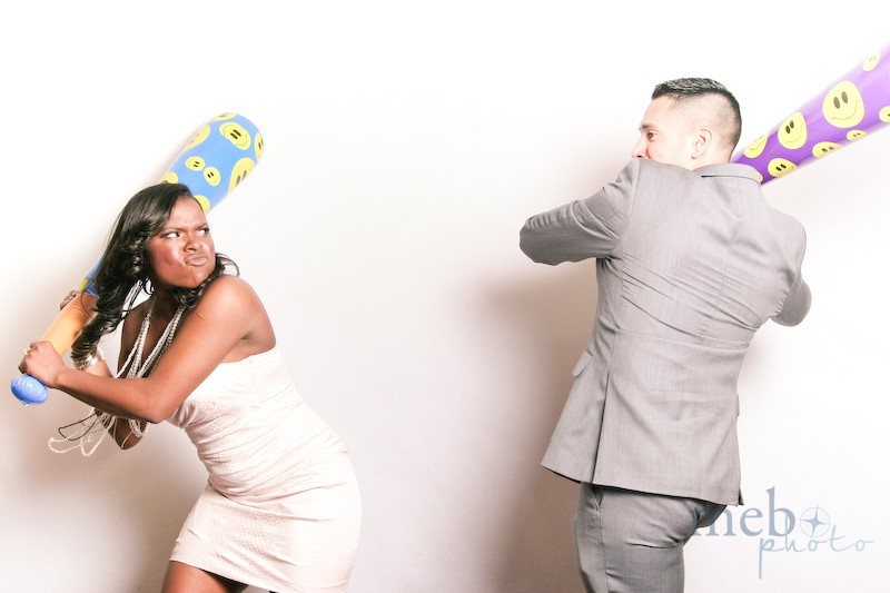 We were surprised her date had the guts to stand up to her with that fighter face she had on!