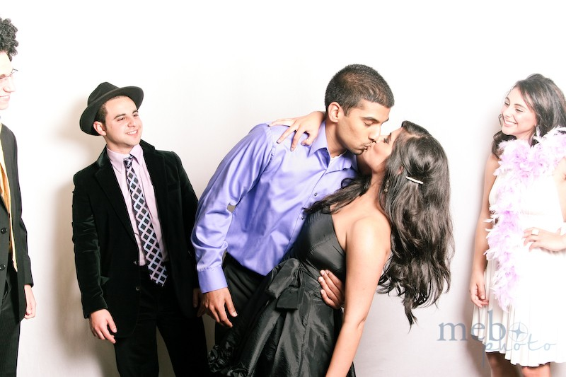Photobooths are a great excuse to show some PDA!