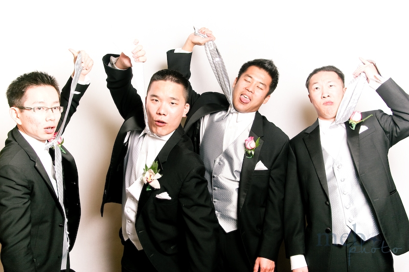 "The groom and his groomsmen, just ""hanging"" around"