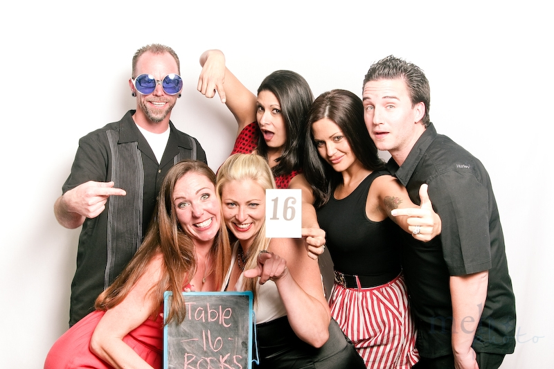 Table 16 rockin' it in the photobooth!