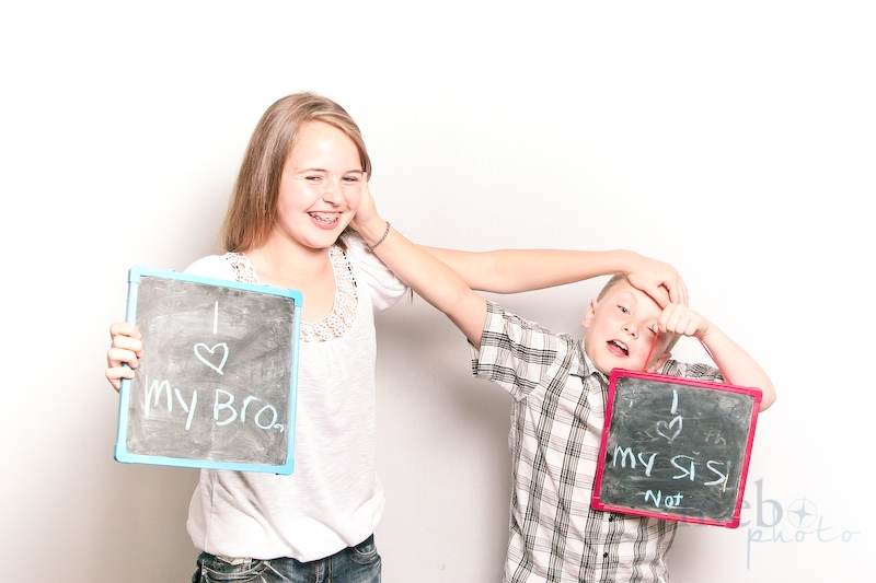 We're sure they really love each other regardless of what his chalkboard says!