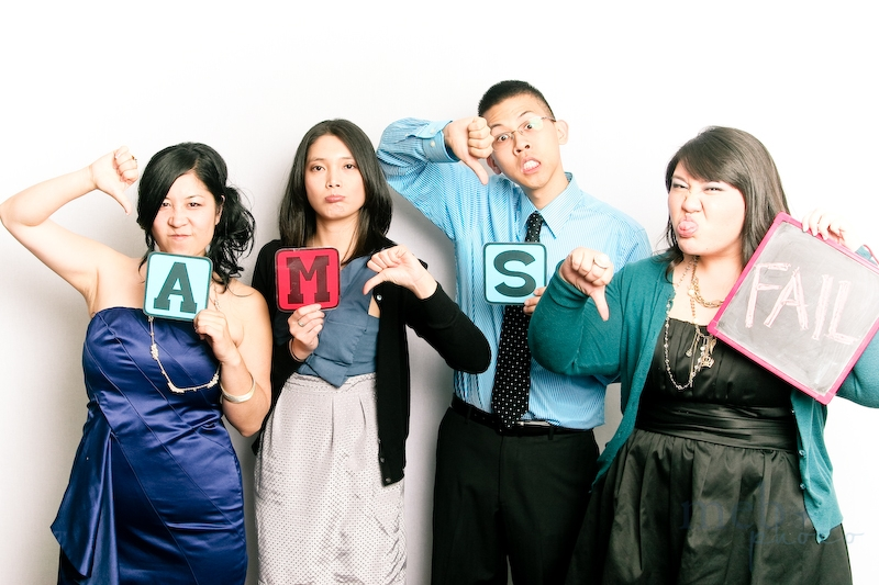 Apparently, A.M.S. stands for Arranged Marriage Society!