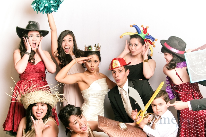 Everyone's expression is just crazy! What an awesome photobooth picture!