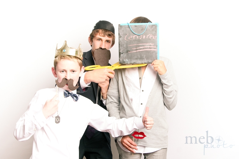 The first ever, censored face in our photobooth!