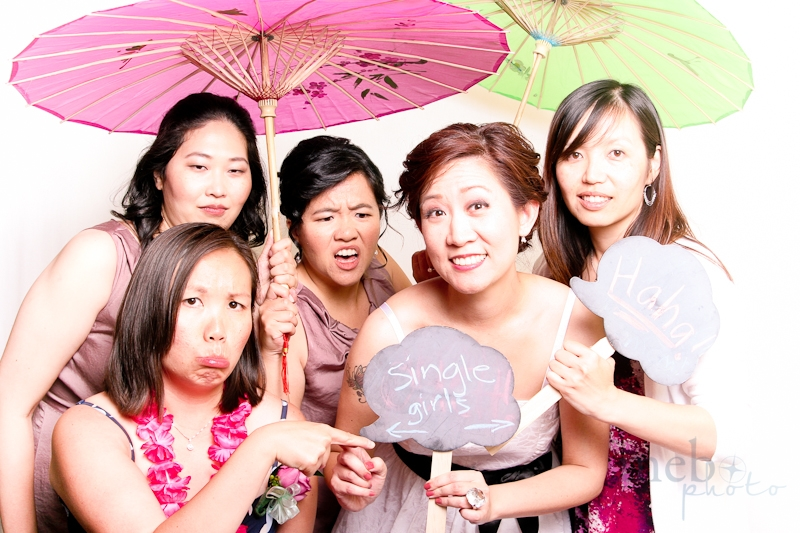 The bride has abandoned the single ladies club!