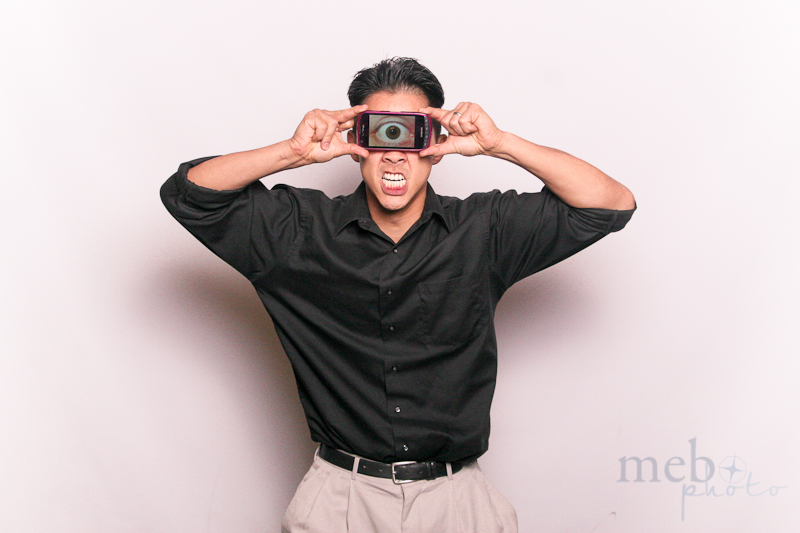 Cyclops! An Android as a photobooth prop. Gotta do this more often!