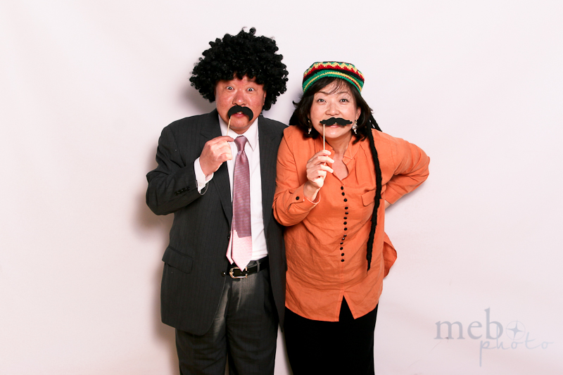 We love it when seasoned couples get in on the fun!